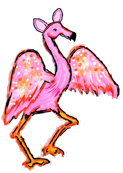 flamingoears