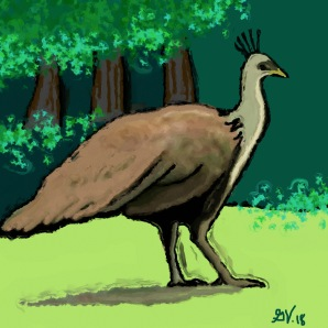 peahen_Painting